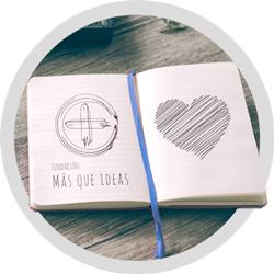 Libreta Fundación MÁS QUE IDEAS