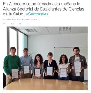 Alianza Sectorial de Estudiantes de Ciencias de la Salud