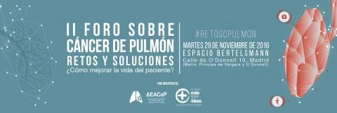 CÁNCER DE PULMÓN: RETOS Y SOLUCIONES 2016