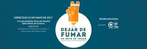 DEJAR DE FUMAR: UN RETO DE TODOS  2017